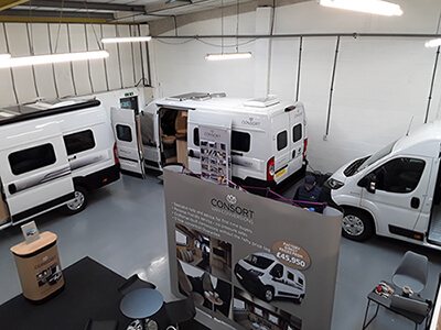 Consort Motorhomes Open Day