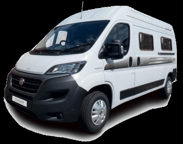 The KITE van conversion motorhome from Consort Motorhomes.