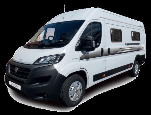 The OSLO van conversion motorhome from Consort Motorhomes.