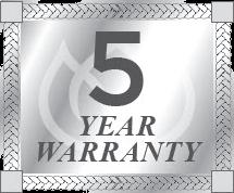 Consort Motorhome's 5 year warranty.