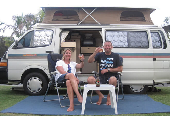 Scot and Jane Naylor exploring the east coast of Australia.